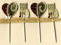 Kitty Counting Pins from Puffin & Co - click for more
