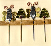 Bees and Hives Counting Pins from Puffin & Co - click for more