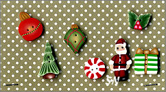 PuntiniPuntini Christmas Buttons - click to see more