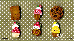 PuntiniPuntini Cookies & Cupcakes Buttons - click to see more