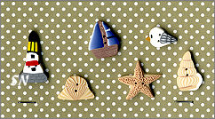 PuntiniPuntini Seaside Buttons - click to see more