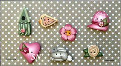PuntiniPuntini Sweet Spring Buttons - click to see more