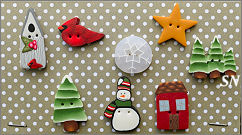 PuntiniPuntini Winter Buttons - click to see more