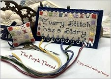 Every Stitch Has a Story by The Purple Thread - click to see more