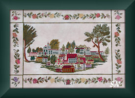 Townscape 1850 from Queenstown Samplers - click to see more