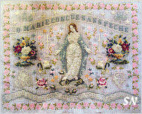 O Marie Sampler by Reflets de Soie -- click to see more!