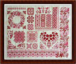 Sampler d' Olga from Reflets de Soie - click for more