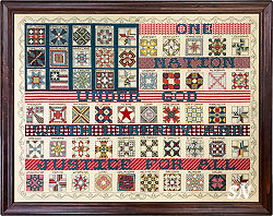 American Flag Quilt Sampler from Rosewood Manor - click for more