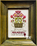 Amazing Friend Button Kit from Rosewood Manor - click for more