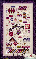 Bargello Sampler from Rosewood Manor - click for more