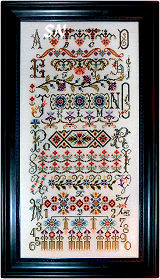 Bucklebury Sampler from Rosewood Manor - click for more
