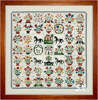 Emily Munroe Quilt from Rosewood Manor - click for more
