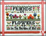 Friends Are Flowers Button Kit from Rosewood Manor - click for more