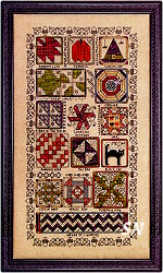 Halloween Quilt Sampler from Rosewood Manor - click for more