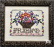 Thank-You Friend Button and Thread Kit from Rosewood Manor - click for more