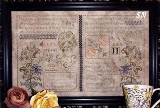 Twin Samplers from Rosewood Manor - click for more