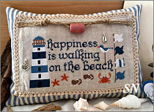 Happiness is Walking on the Beach by Rovaris of Italy - click to see more