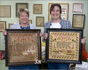 Hannah's Sampler from Shakespeare's Peddler - click to see more
