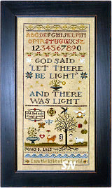 Jenny Bean's Creation Sampler from Shakespeare's Peddler - click to see more