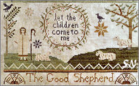 Jenny Bean's The Parlor part 4...the Good Shepherd from Shakespeare's Peddler - click to see more