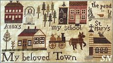 Jenny Bean's The Parlor part 7 My Beloved Town from Shakespeare's Peddler - click to see more