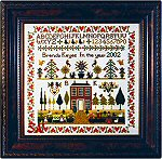 Country Home Sampler by The Sampler Company -- click to see a larger view