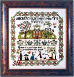 Providence Sampler by Brenda Keyes -- click to see a larger view!