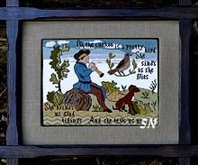The Cuckoo Sampler by Brenda Keyes -- click to see a larger view!