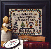 Eliza Fiske's Busy Bee Sampler -- click to see more
