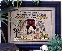 Noah's Ark Sampler by Brenda Keyes -- click to see a larger view!