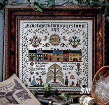 Plant Wisdom Sampler by Brenda Keyes -- click to see a larger view!