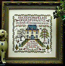 Sweet Humility Sampler from The Sampler Company -- click to see more
