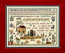Town & Country Sampler from The Sampler Company -- click to see more