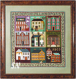 Sampler Houses from The Sampler Company -- click to see a larger view