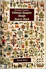 The Ultimate Sampler Motifs Source Book by Brenda Keyes -- click to see a larger view!