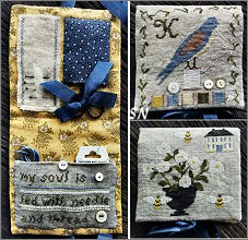With Needle & Thread Needle Book from Samplers Not Forgotten - click to see more