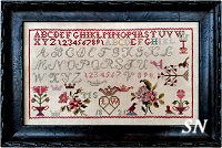 LW Motif Sampler 1821 from Samplers Not Forgotten - click to see more