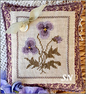 Pensee Savauge Kit from Samplers Not Forgotten - click to see more