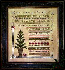 O Christmas Tree from Samplers Not Forgotten - click to see more