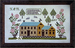 Rose Manor from Samplers Not Forgotten - click to see more