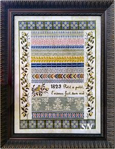 French Garden from Samplers Not Forgotten - click to see more