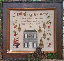 Christmas In My Heart from Samplers Not Forgotten - click to see more