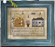 Summer Garden from Samplers Not Forgotten - click to see more