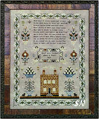 Isabill Robb 1803 from Samplers Not Forgotten - click to see more