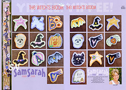 The Witch's Broom from SamSarah Design Studio - click for more