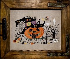 Happy Halloween by Sara Guermani - click for more