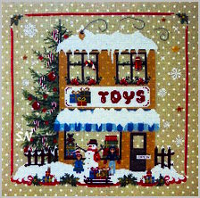 Christmas Avenue's Toy Shop by Sara Guermani - click for more