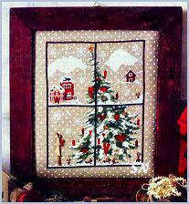 Christmas Windows 3 by Sara Guermani - click for more