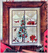 Christmas Windows 4 by Sara Guermani - click for more