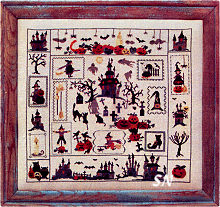 Halloween Sampler by Sara Guermani - click for more